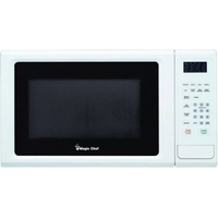MAGIC CHEF® 1.1 Cubic-ft, 1,000-Watt Microwave with Digital Touch (White), MCM1110W