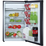 MAGIC CHEF 4.4 Cubic-ft Refrigerator (Black), MCBR440B2