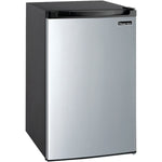 MAGIC CHEF 4.4 Cubic-ft Refrigerator (Stainless Look), MCBR440S2