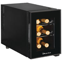 MAGIC CHEF® 6-Bottle Wine Cooler, MCWC6B
