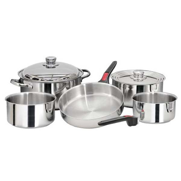 Magma Nesting 10 Piece S.S. Cookware Set- A10-360L