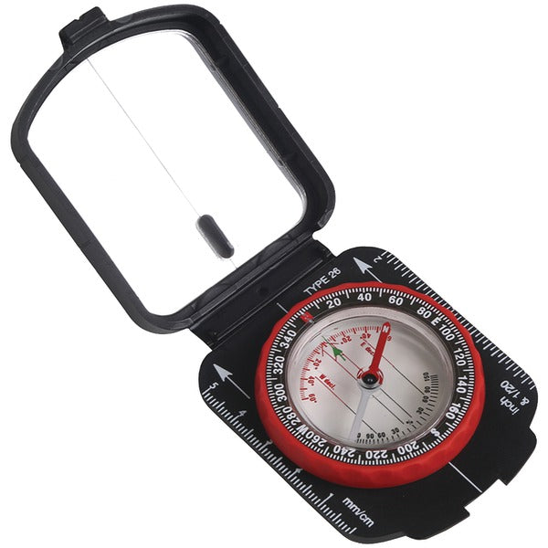 Stansport® Multifunction Compass with Mirrored Cover  553
