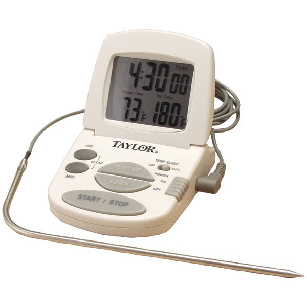 Taylor® Precision Products Digital Cooking Thermometer/Timer - 1470N