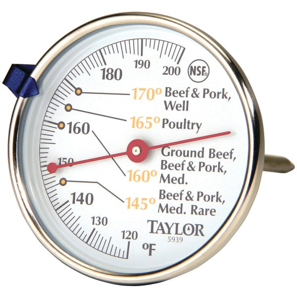 Taylor Precision Products Meat Dial Thermometer - 5939N