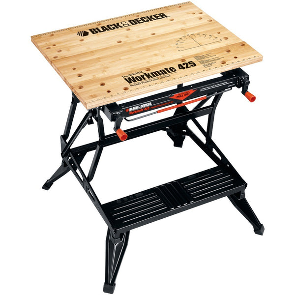 Black & Decker Workmate® Portable Project Center & Vise (550lbs capacity) 320115