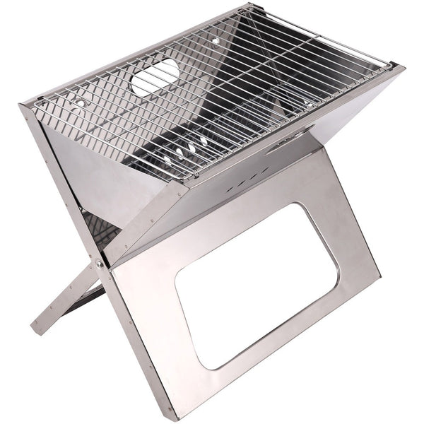 "Brentwood Appliances 18"" Portable Folding Charcoal BBQ Grill, BB-1811F"