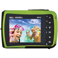 Bell+Howell® 12.0-Megapixel WP10 Splash Waterproof Digital Camera (Green) WP10-G