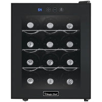 MAGIC CHEF® 12-Bottle Wine Cooler, MCWC12B