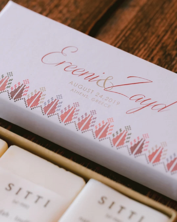 """Two Birds in Love"": Customized Wedding Favors"