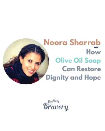 Our co-Founder, Noora featured on Finding Bravery podcast + Our new online stockist!