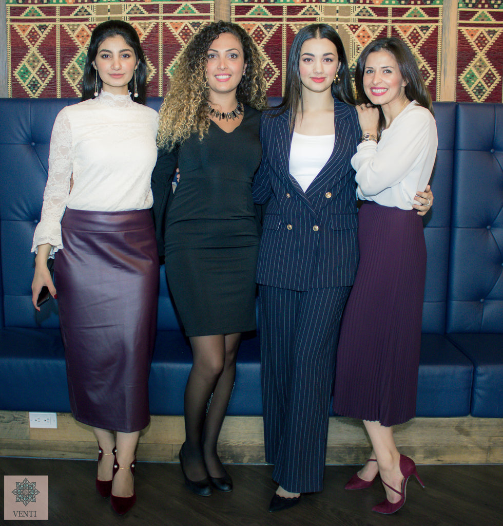 Venti Special Events Ola and Rand Founders Aseel El-Baba Motivational Speaker Noora Sharrab Inspirational Speakers co-founder Sitti Soap Arab Women Entrepreneurs