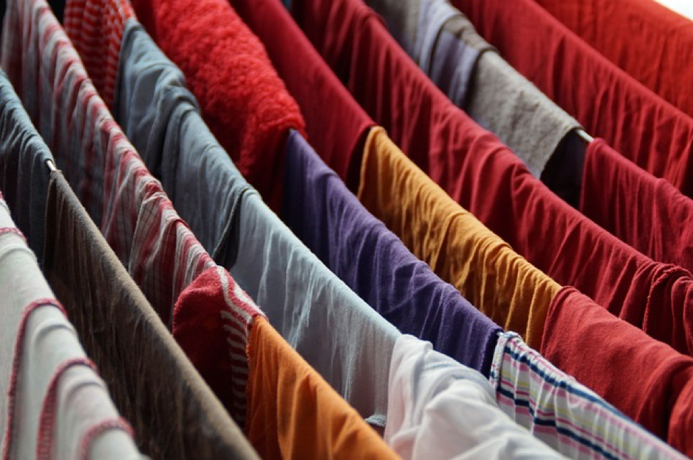 laundry bright colors clothes colours