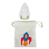 Rocket Ship Soap Set with Embroidered Pouch