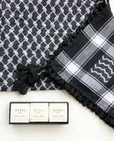 Sitti's Bundle: Keffiyeh Vest + 3-soap gift set
