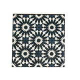 Artisan Tile Shop Handmade 8x8 Patterned Cement Tile Fiore