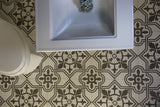 Artisan Tile Shop Handmade Patterned Cement Tile Padua