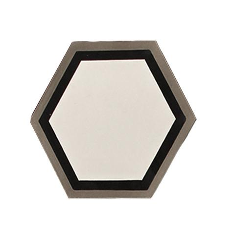 "Zamora 8""x8"" Handmade Hexagon Cement Tile"