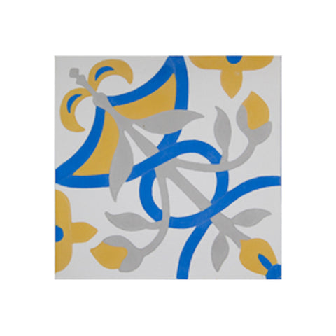 Amalfi 8x8 Cement Tile