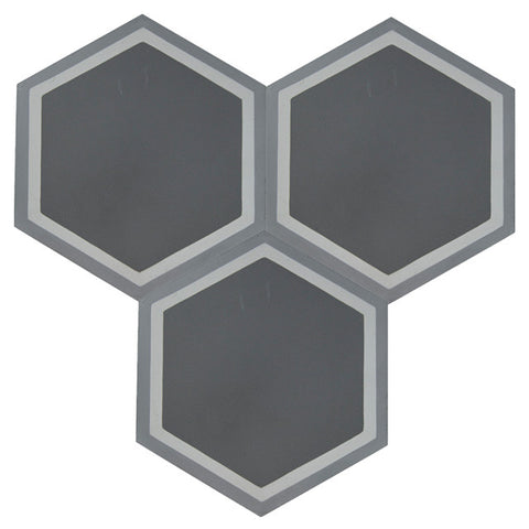 Linus 8x8 Hexagon Cement Tile