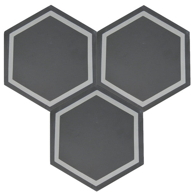 Nice 8x8 Hexagon Cement Tile