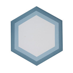 Milan 8x8 Hexagon Cement Tile