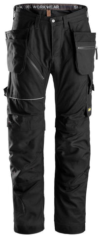 Snickers Ruff Work Cotton Holster pocket and kneepad Trouser - 6215