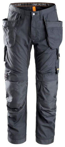 Snickers All round Work, Work Trousers with Kneepad & Holster Pockets - 6201 - snickers-online