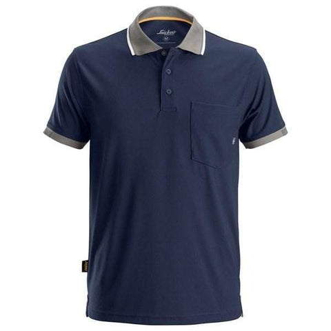 Snickers AllroundWork 37.5 Technical Short Sleeve Polo Shirt - 2724 - Underwear & Thermals Snickers
