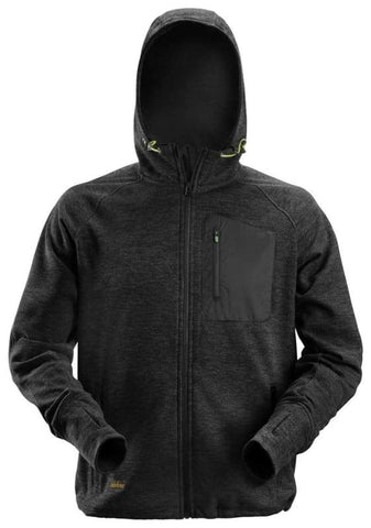 Snickers Flexi Mesh Work Fleece Hoody - 8041 - Hoodies & Sweatshirts Snickers