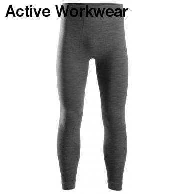 Snickers Flexi Work Seamless Wool Thermal baselayer pants - 9442 - snickers-online