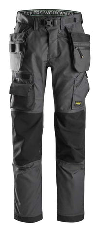 Snickers FlexiWork Floorlayer Trousers - 6923 - Trousers Snickers