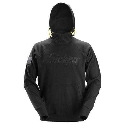 Snickers Logo Hoody No Zip over the head Hooded Sweatshirt - 2881 - Hoodies & Sweatshirts Snickers