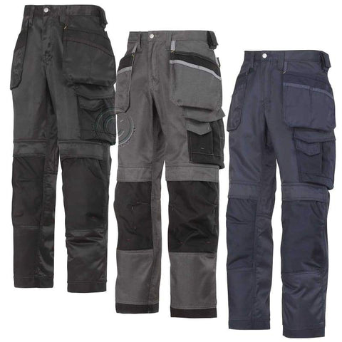 Snickers Ultimate Work Trousers with Kneepad & Holster Pockets -3212 - snickers-online