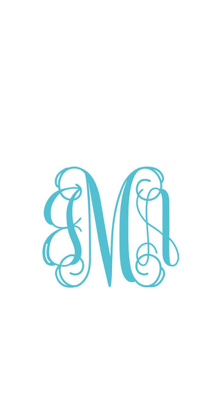 Squared Monogrammed Ring Plate