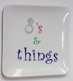 Squared Rings and Things Plate