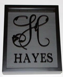 Family Name Wine Cork Shadowbox