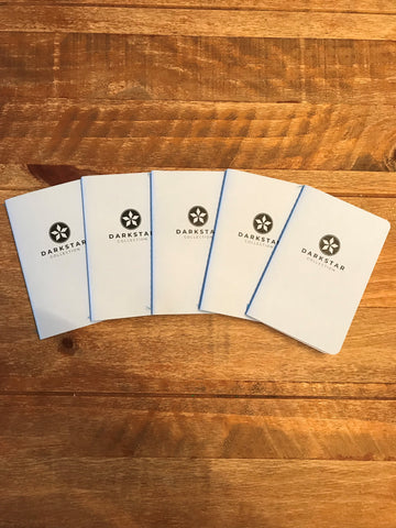 Pocket Notebook  - Blue International 5 Pack