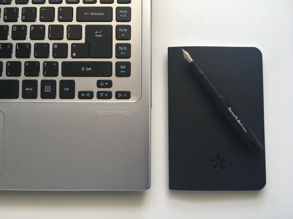 Pocket Notebook - Pitch Black