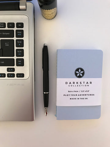 Pocket Notebook  - Blue