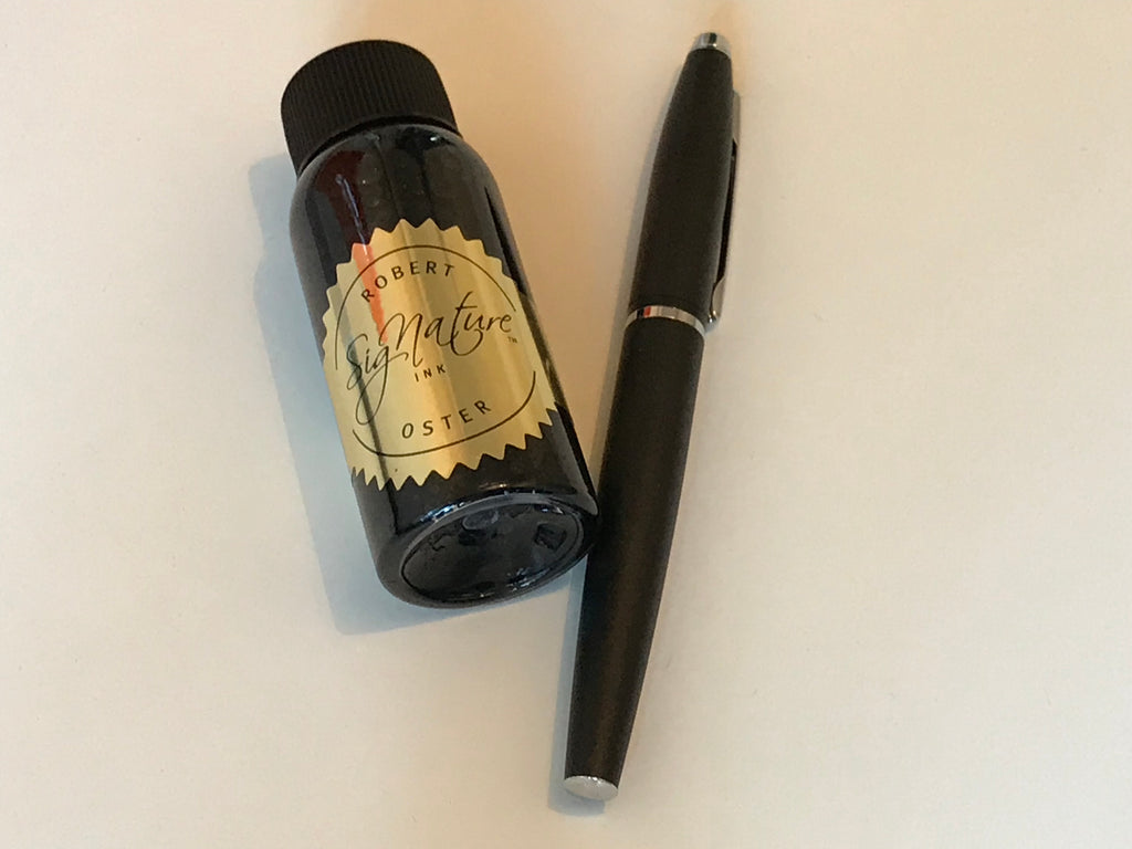 Darkstar blue ink from Robert Oster