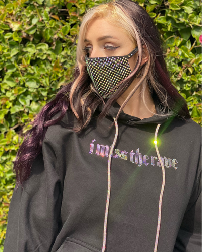 I Miss The Rave Hoodie - Lunautics