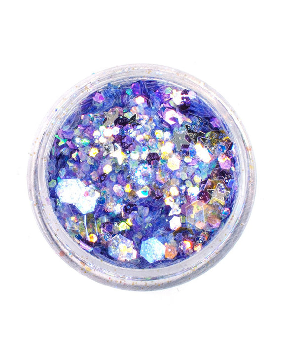 Light Purple Iridescent Chunky Glitter - Lucid | Lunautics
