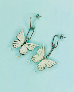Mariposa Chain Earrings- Lunautics x Rolita Couture - Lunautics