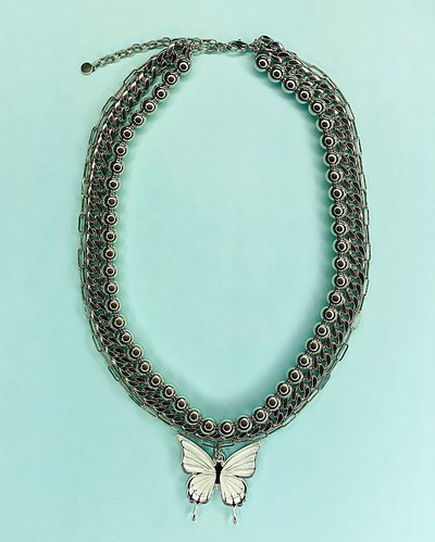 Mariposa Layered Necklace- Lunautics x Rolita Couture - Lunautics