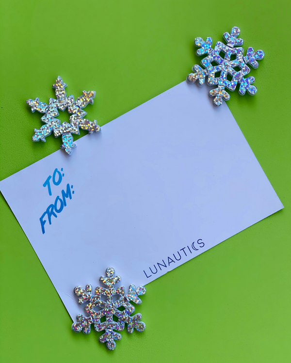 Season Shine Holiday Card + Face Jewels