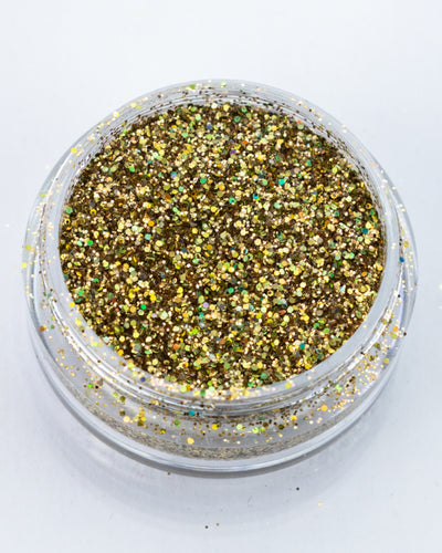 Gold Holographic Fine Glitter - Success | Lunautics