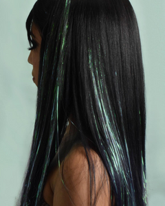 Joy Tinsel Hair Extensions