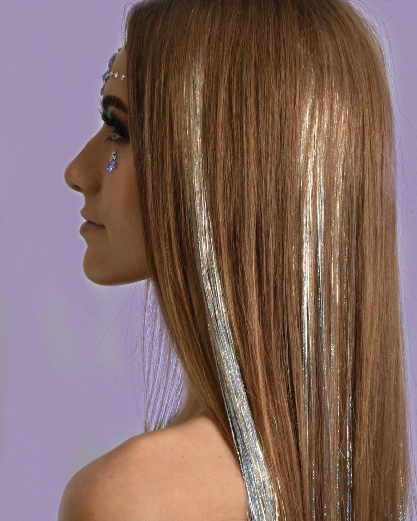 Power Tinsel Hair Extensions