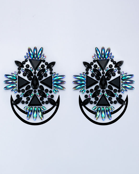 Dark Angel Jewel Pasties - Lunautics