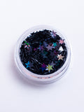 Black Star Chunky Glitter - Dark Night | Lunautics